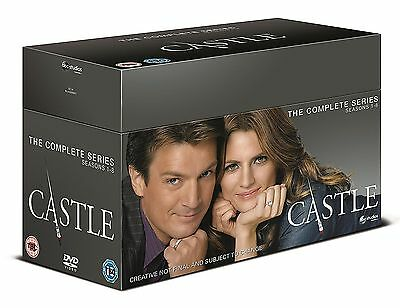 CASTLE - Complete Series 1-8 Collection Boxset (NEW DVD R4)