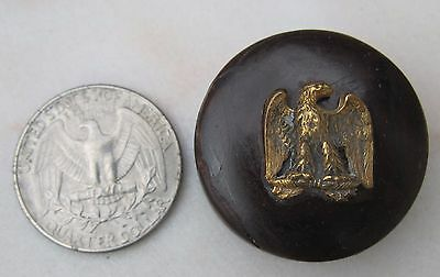 Antique French Bakelite Pill or Snuff Box Military Napoleonic Eagle Empire old
