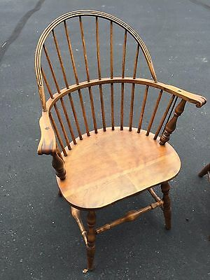 Antique Hand-Carved Windsor Chair