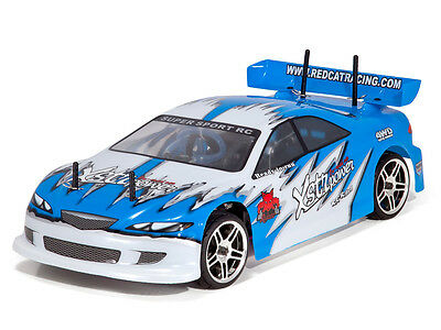 Redcat Racing Lightning STR 1/10 Scale Nitro Road Car Blue 2 Speed 1:10 rc car