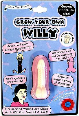 Grow A Your Own Willy Secret Santa Christmas Party Idea Joke Dick Cock Penis UK