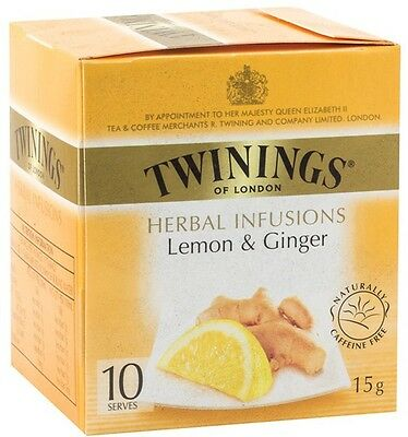 Twinings 10's Lemon and Ginger