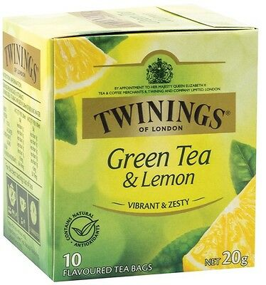 Twinings 10's Green Tea and lemon
