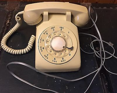 Vintage Northern Telecom Rotary Dial Telephone White