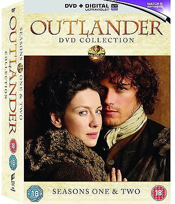 OUTLANDER - Complete Series 1 & 2 Collection Boxset (NEW DVD)
