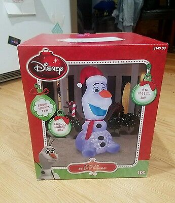 Christmas Inflatable Airblown 8 ft Lighted Olaf Kaliedoscope,FREE GIFT WITH PURC