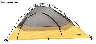 TETON Light Weight All Weather Tent, Cot Top Dome 1 Person Solo Camping New