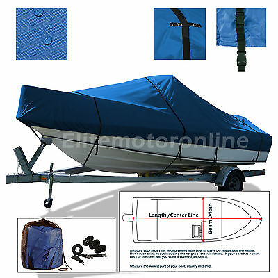 Boston Whaler 130 SPORT Trailerable Fishing Boat Storage Cover Blue
