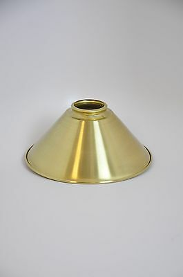 8 inch Unfinished Brass Spun Cone Shade