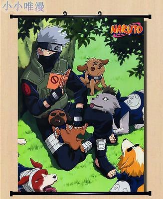 Japanese Anime Naruto Hatake Kakashi Home Decor Scroll Wall poster 60*90CM