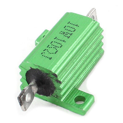Green Aluminum Chassis Mounted Wirewound Resistors 10W 10 Ohm 5% LW