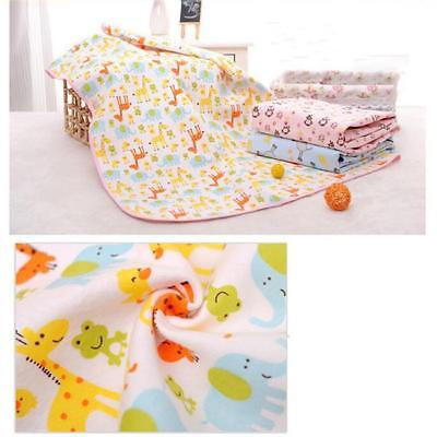Baby Infant Diaper Nappy Urine Mat Kid Waterproof Bedding Changing Cover Pad DD
