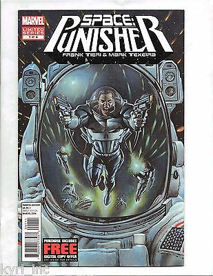 SPACE PUNISHER #1 of 4 MARK TEXEIRA FRANK TIERI MARVEL COMICS L