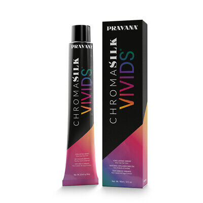 Pravana ChromoSilk Vivids Normal Hair Colour Dye - Stains