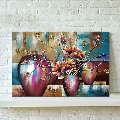 Unframed Watercolor Flower Abstract Wall Oil Painting Canvas Print Home Decor