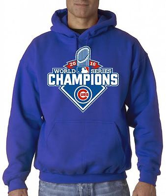 New 2016 World Series Champions Chicago Cubs Graphic Hoodie / Sweater Free Ship