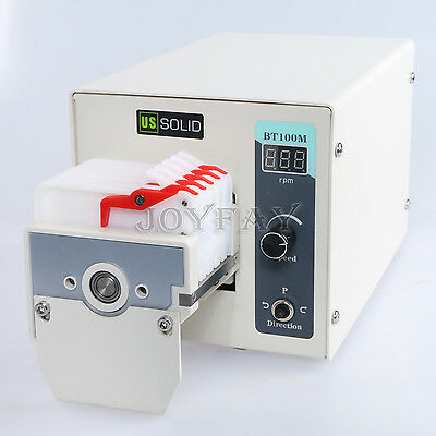 Peristaltic Pump 0.046 - 48 ml/min per channel 3 channel 10 Roller U.S. Solid®