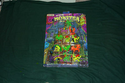 RARE Matchbox Monster in my Pocket Super Scary12pk On Original Card