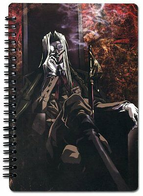 *NEW* Hellsing Ultimate: Integra Spiral Notebook by GE Animation