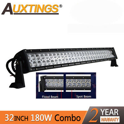 32Inch 180W LED Light Bar Off road Driving Fog Light Combo Beam UTE SUV 4WD Lamp
