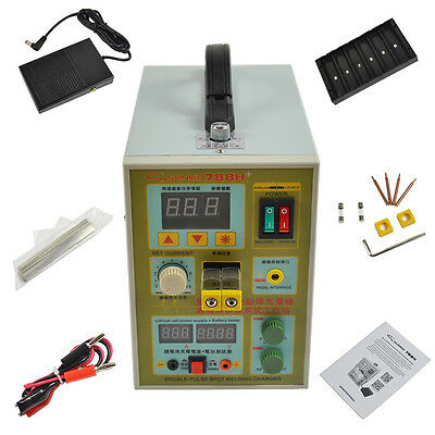 2 in 1 18650 788H 60A Spot Welding Welder Soldering for Battery Charger 220V