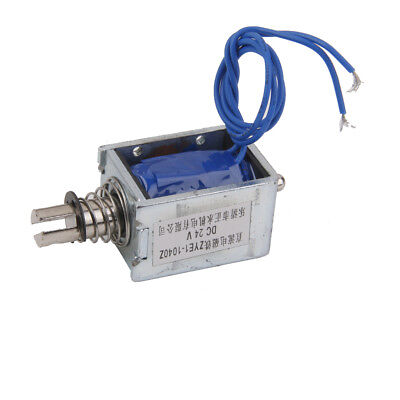 24V Pull Electromagnet Electric Lifting for Machines Equipment Universal Use