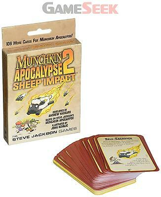 Munchkin Apocalypse 2: Sheep Impact - Toys Brand New Free Delivery