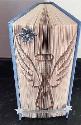Book Folding Pattern. Cut And Fold--- Angel---   389 Pages   #297