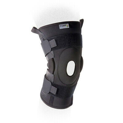 PhysioRoom Advanced Hinged Knee Brace - Patella Injury, Rehab Support