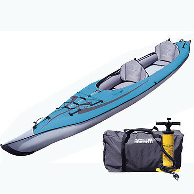 New! Advanced Elements Hi-Pressure Convertible DS Series Inflatable Kayak w/Pump
