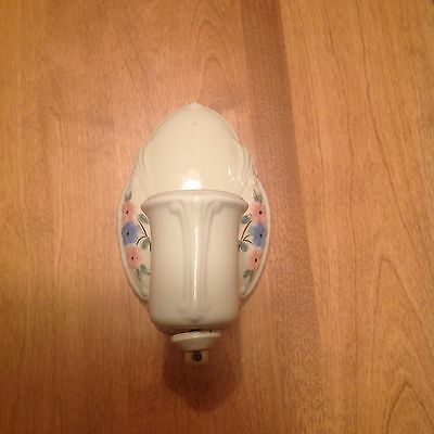 Vintage Porcelain Wall Light Sconce Fixture
