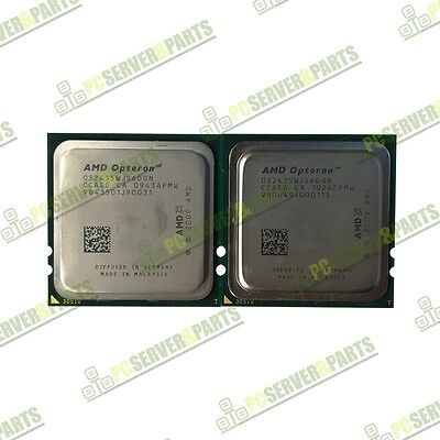 Pair of AMD Opteron 2435 2.6GHz Six Core Server CPU Processor OS2435WJS6DGN