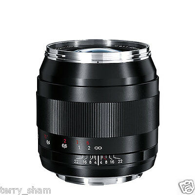 New Carl Zeiss Distagon T* 28mm F2 ZE Wide Angle Lens Canon EOS EF Hood Shade