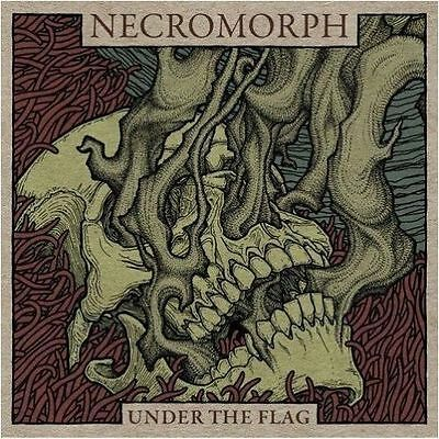 """Necromorph """"Under The Flag"""" LP [POWERFUL GRIND FROM GERMANY, Brutal Truth Nasum]"""