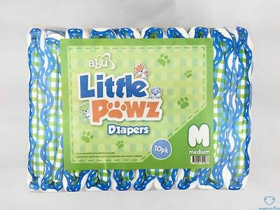 ABU Little Pawz Medium ABDL Adult Printed Nappies/Diapers
