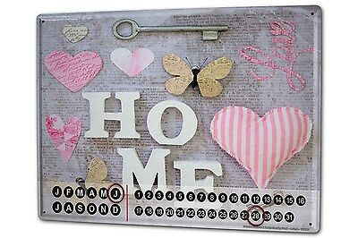 Dauer Wand Kalender Fun Home Metall Magnet