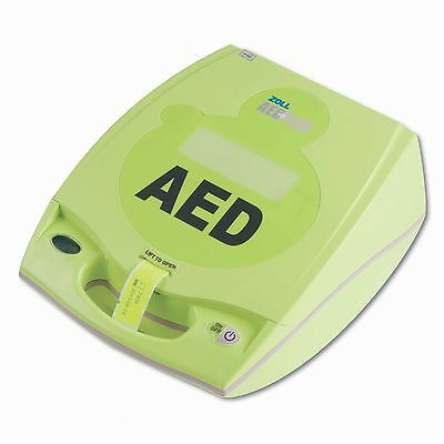 Zoll Plus AED Defibrillator + New Pads, Battery, Carrying Case -2 YR WRNTY