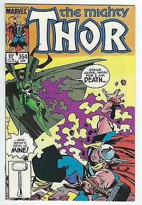 The Mighty Thor #354!! Walt Simonson Art!!! High Grade!!