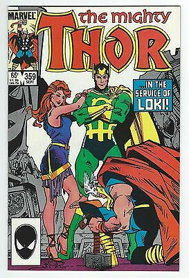 The Mighty Thor #359!! Walt Simonson Art!!! High Grade!!