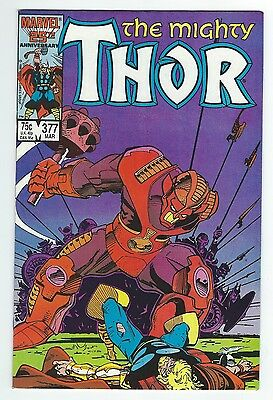 The Mighty Thor #377!!  High Grade!!