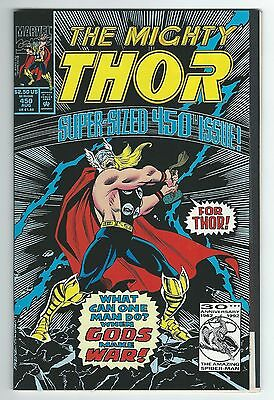 The Mighty Thor #450!!  High Grade!!  Super-Sized Milestone Issue!!