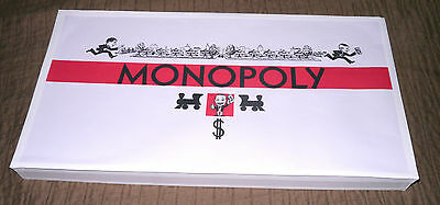 Darrow White Box 1934 Style Reproduction Monopoly Game Set Complete