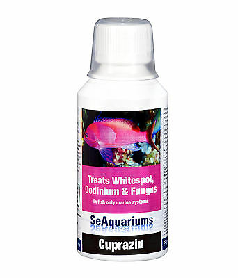 Waterlife Cuprazin For Whitespot and Fungus in Marine Tanks 250ml Bottle