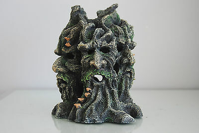 Realistic  Many  Face Tree Monster Root 18 x15 x19.5 cms • EUR 21,94