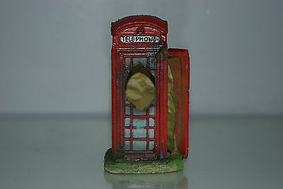 Aquarium Small Old London Telephone Box 8 x 7 x14 cms Suitable For All Aquariums