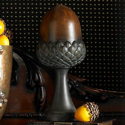 Brown Acorn on Stand