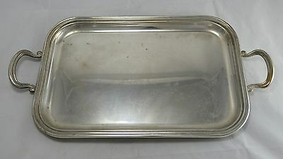 N°9218 Occasione Vassoio Tray In Argento Sheffield Collection