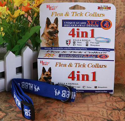 New ! For Large Dogs 4 Month Anti Fleas & Ticks & Mosquitoes Dog Collar