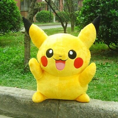 22cm Pikachu pokemon Plush Toy monster Children boys girls Gift
