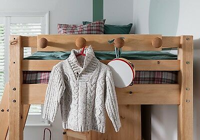 Coat Hook Peg Rail for Bunk Beds and Cabin beds Kids bed